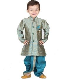 Kishore Dresses Baby Boy's Kurta and Dhoti Pant Set