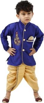 FTCBazar Boy's Kurta and Dhoti Pant Set