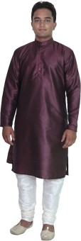 Royal Kurta Solid Men's Straight Kurta - KTAEFPYBCEDDBJYY