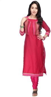 Kashish Women's Kurta, Waistcoat And Pyjama Set
