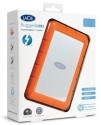 Lacie 9000291 120 GB External Hard Disk - Orange