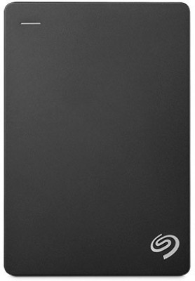 Seagate Backup Plus 4 TB Wired  External Hard Drive with  200 GB  Cloud Storage (Black, Mobile Backup Enabled)