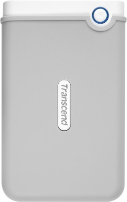 Transcend 2 TB Wired External Hard Disk Drive (White)