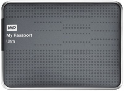WD Passport Ultra 2.5 inch 2 TB External Hard Drive Titanium