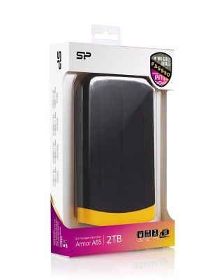 Silicon Power 4 TB Wired HDD  External Hard Drive (Black, External Power Required)