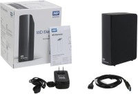 Western Digital WD Elements Basic Storage Stockage Simplement 3 TB Wired External_hard_drive (Black)