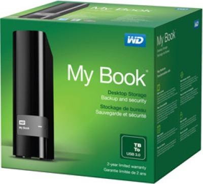 WD My Book USB 3.0 3TB Desktop External Hard Disk