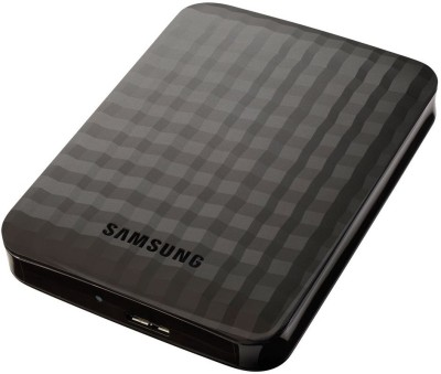 Samsung M3 Portable 500 GB External Hard Drive (Black)