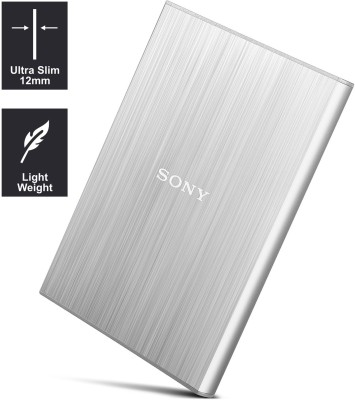 Sony 2 TB Wired  External Hard Drive (Silver)