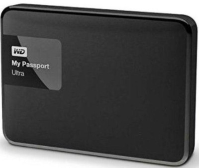 Western Digital 2 TB Wired  External Hard Drive (Black)