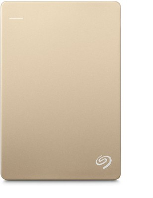 Seagate 1 TB Wired  External Hard Drive with  200 GB  Cloud Storage (Gold)