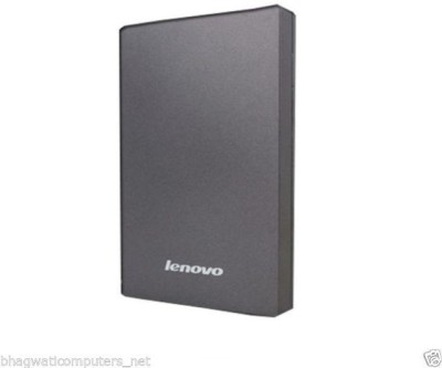Lenovo 1 TB Wired  External Hard Drive (Grey)