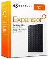 Seagate Expansion 1 TB Wired  External Hard Drive (Black)