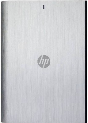 HP 1 TB Wired  External Hard Drive (Grey, Mobile Backup Enabled)