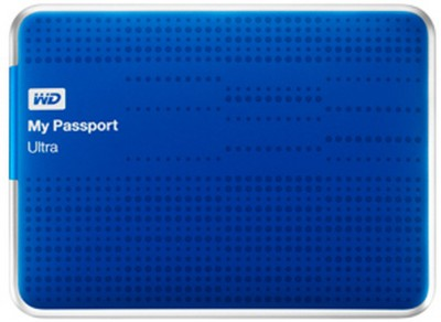 WD My Passport Ultra 1TB 2.5 Inch External Hard Disk