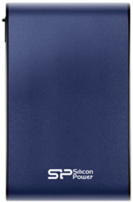 Silicon Power 2 TB Wired HDD  External Hard Drive (Blue)