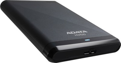 Adata Classic HV100 1 TB Wired  External Hard Drive (Black)