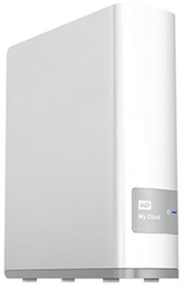 WD My Cloud 3 TB  External Hard Drive (White)