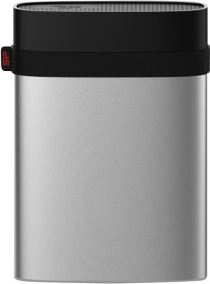 Silicon Power 500 GB Wired External Hard Disk Drive (Silver)