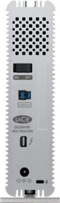 LaCie 4 TB HDD  External Hard Drive (Silver)