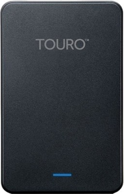 Hitachi Touro Mobile 2.5 Inch 500 GB External Hard Disk (Black)