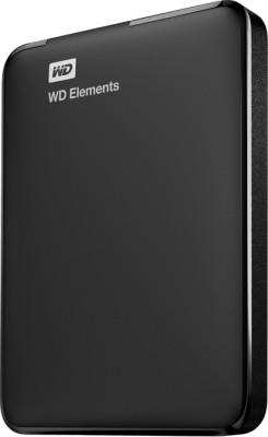 WD Elements 2.5 inch 1 TB External Hard Drive (Black)