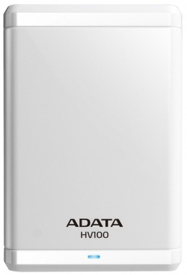 Adata 2 TB Wired  External Hard Drive (White)