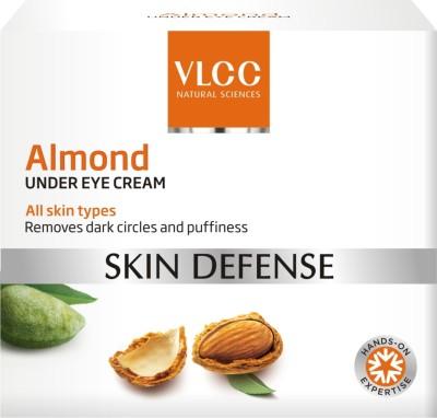 Almond Cream For Skin Vlcc Almond Under Eye Cream