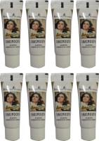 Shahnaz Husain Shasmooth Plus Almond Under Eye Cream Pack Of 8 (80 G)