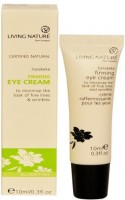 Living Nature Natural Firming Eye Cream With Harakeke And Larch Tree Extract (10 Ml)