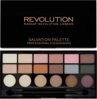 Makeup Revolution London Girl Panic 18 Exclusive Eyeshadow Salvation Palette 13 G (Multicolor)