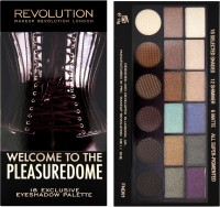 Make Up Revolution London Welcome To The Pleasuredome 18 Exclusive Eyeshadow Palette (Pack Of 18)