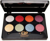 C2P Professional Make-Up Eye-Shadow Palette Large(8 In1) 34 G