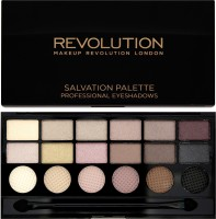 Makeup Revolution London What You Waiting For 18 Exclusive Eyeshadow Salvation Palette 13 G (Multicolor)