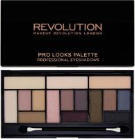 Makeup Revolution London Pro Looks Stripped & Bare Eyeshadow Palette 13 G (Multicolor)