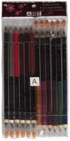 ADS ADS Perfect Eye And Lip Liner Pencil 12 Pieces (Eye Liner, Lip Liner Pencil 12 Pieces)