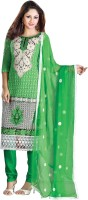 Triveni Georgette Self Design Dress/Top Material - Unstitched - FABDXYZ3FVJUXKD3
