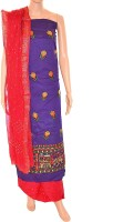 Fabrics of India Cotton Printed Dress/Top Material - Unstitched - FABDWMREDWFSAKDW
