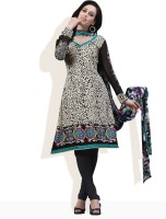 Strollay Synthetic Printed Dress/Top Material Fabric Unstitched