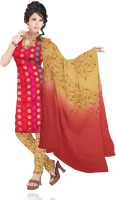 Unnati Silks Silk Printed Salwar Material Fabric Unstitched