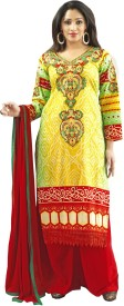 Admyrin Cotton Self Design Salwar Suit Dupatta Material
