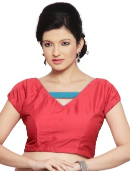 Pratami Cotton Silk Blend Solid Blouse Material Unstitched - FABE78FFH9GYZMZC
