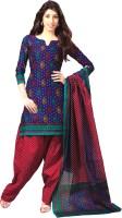Reya Cotton Printed Dress/Top Material - FABDWKJBTPCVZNNG
