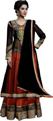 Shagun Net Self Design Semi stitched Salwar Suit Dupatta Material available at Flipkart for Rs.4700