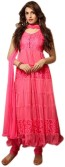 Offer Point Net Solid Semi-stitched Salwar Suit Dupatta Material