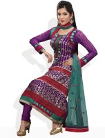 Aarya Synthetic Self Design Salwar Material Fabric Unstitched