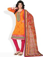 Tamanna Fashions Cotton Printed Salwar Material Fabric Unstitched