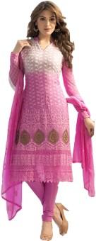 Khantil Chiffon Self Design Salwar Suit Dupatta Material Unstitched - FABE3NWJHNXMXVJC