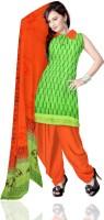 Unnati Silks Cotton Printed Salwar Suit Dupatta Material - Unstitched - FABDZQXKHYHC5QD6