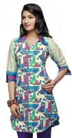 Karishma Suits Cotton, Jacquard Geometric Print Dress/Top Material - Unstitched